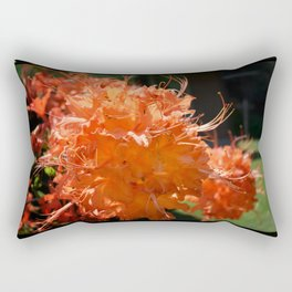 Fire Azalea Rectangular Pillow