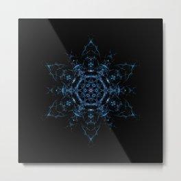 Megrez Star Mandala Metal Print