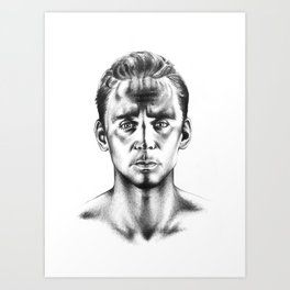 Tom Hiddleston 3 Art Print