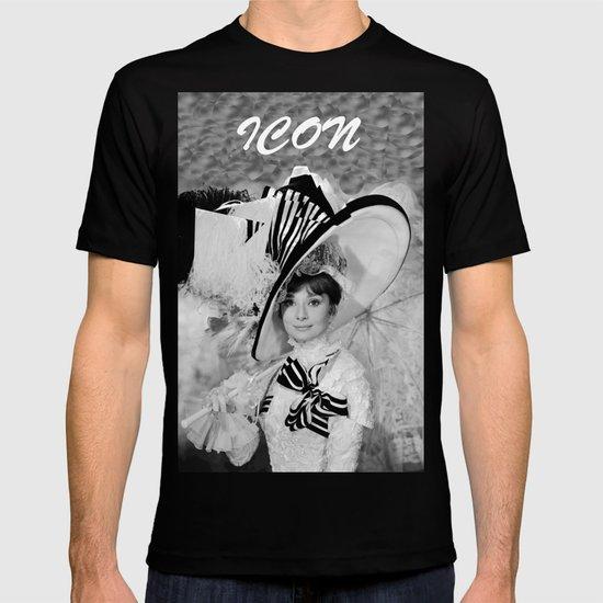 Audrey Hepburn ICONIC ICON BEAUTY SCENE T-shirt