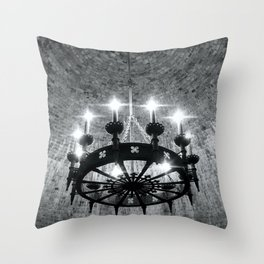 King of My Castle Throw Pillow