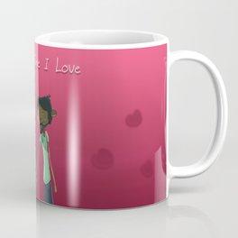 Valentine's day art painting type of Print  Coffee Mug