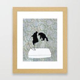 El Poinsetta Dali Framed Art Print