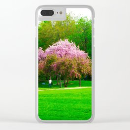 Unique Tree Clear iPhone Case
