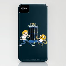 Finn and Jake's Excellent Adventure through Time Slim Case iPhone (4, 4s)