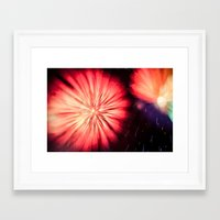 philippines Framed Art Prints featuring Fireworks - Philippines 5 by David Johnson