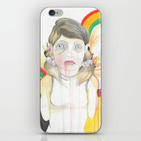 zombie iPhone & iPod Skins featuring Zombie by Raül Vázquez