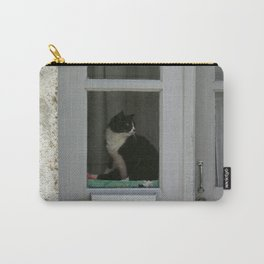A  Cat in the Window Carry-All Pouch