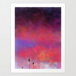 Summer Glow Art Print