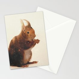 Veluwe: Squirrel Stationery Cards
