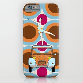 Hurly burly iPhone Case