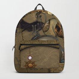 Wonderful steampunk horse Backpack