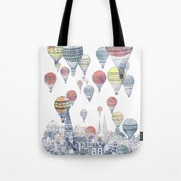 Voyages Over Edinburgh ~ Refresh Tote Bag
