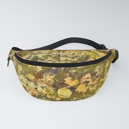 Chartrese Rose Garden Fanny Pack