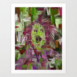 What's The Splatter? Art Print