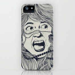 Haunted Beauty iPhone Case
