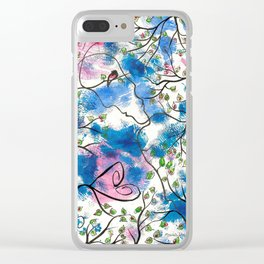 Forever and Always by mrs Wilkes Clear iPhone Case