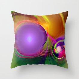 Gravitational Attraction Throw Pillow
