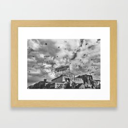 Welcome to Westlake Framed Art Print