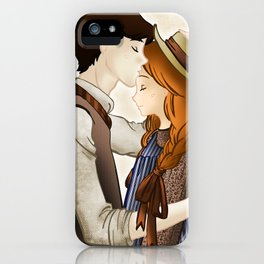 Anne Shirley and Gilbert Blythe iPhone Case