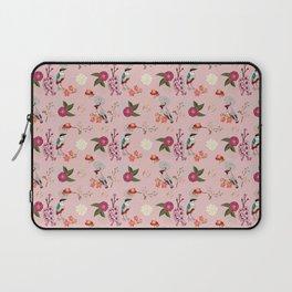 Eastern delight Japanese garden, pink. Laptop Sleeve
