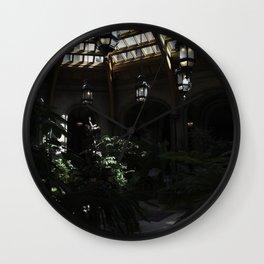Indoor Garden of the Biltmore Wall Clock