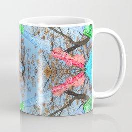 """Papel Picado Kaleidoscope"" by Murray Bolesta Coffee Mug"