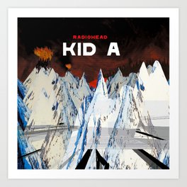 Kid A Art Print