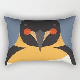 Emperor Penguin, Animal Portrait Rectangular Pillow