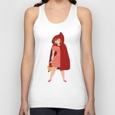 Little Red Riding Hood Unisex Tank Top