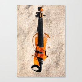 Sandy violine Canvas Print