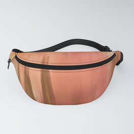 Blush with Gold Abstract Fanny Pack