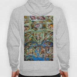 Spectacular Sistine Chapel Frescoes, Rome, Italy, 1985 Hoody