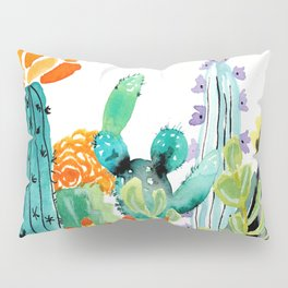 A Prickly Bunch Pillow Sham