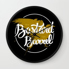 the bastard from the barrel Wall Clock