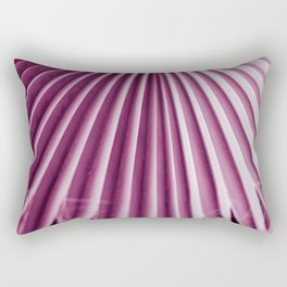 plant texture of palm tree. ultra violet color Rectangular Pillow