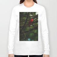 cardinal Long Sleeve T-shirts featuring Cardinal by Tarraf Photography
