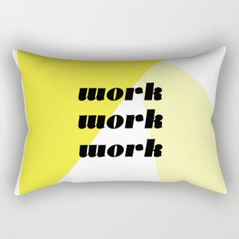 work Rectangular Pillow