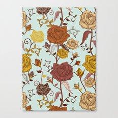 Rosies Roses Canvas Print