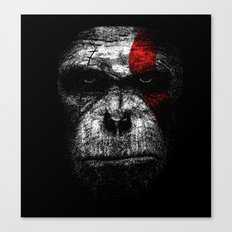 Ape of war Canvas Print
