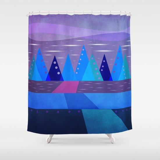 Textures/Abstract 129 Shower Curtain