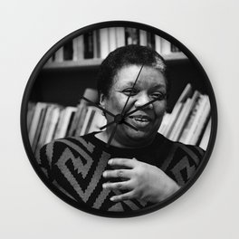 Lucille Clifton - Black Culture - Black History Wall Clock