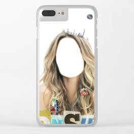 Miss Consume Clear iPhone Case