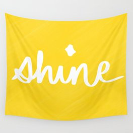 Shine on Yellow Wall Tapestry