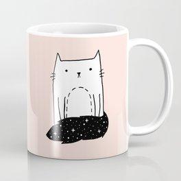 Cat with Tail Coffee Mug