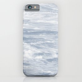 Waves Vs. Clouds iPhone Case