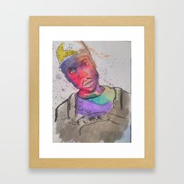 Chano Framed Art Print