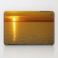 swedish iPad Cases featuring Swedish Sunset by LesImagesdeJon
