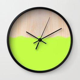 Sorbet II Wall Clock