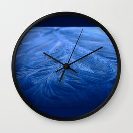 Cold as ice Wall Clock